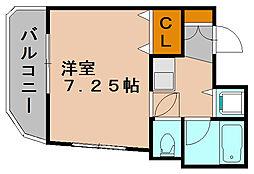 ダイナコート博多[5階]の間取り