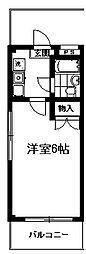 東京都練馬区下石神井5丁目の賃貸マンションの間取り