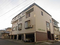 長野県長野市大字若里の賃貸マンションの外観