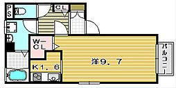 セードルII[205号室]の間取り