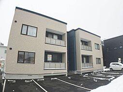 北海道札幌市手稲区西宮の沢三条2丁目の賃貸アパートの外観