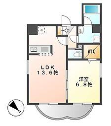 カノン大須[3階]の間取り