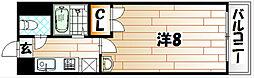 福岡県北九州市八幡東区前田3丁目の賃貸マンションの間取り