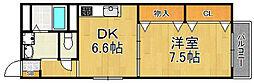 フォンテ武庫之荘[4階]の間取り