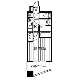 エルシェ横濱[3階]の間取り