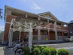 三重県伊賀市上野西大手町の賃貸アパートの外観