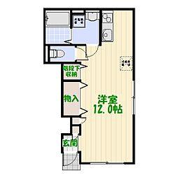 Casa Felice[0102号室]の間取り
