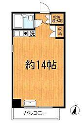 シャンボール第2川崎[306号室]の間取り