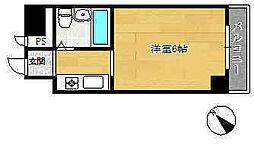 ネオダイキョー神戸元町[5階]の間取り