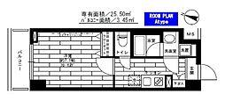 ステージグランデ生田駅前[5階]の間取り