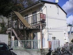 岡山県岡山市北区津島東3丁目の賃貸アパートの外観
