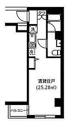 尾山台フラッツ[2階]の間取り