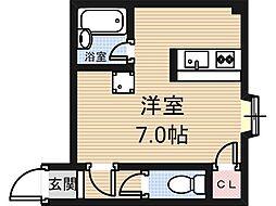 リーヴハウス[303号室]の間取り