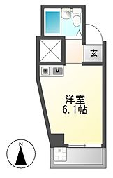 ドール神穂[4階]の間取り