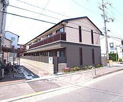 京都府京都市右京区西京極南衣手町の賃貸アパートの外観