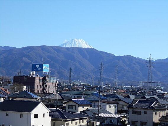 富士山が見えま...