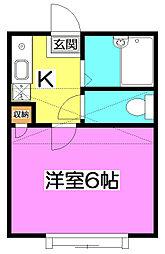 La Tajour 〜ラ・タジュール〜[1階]の間取り