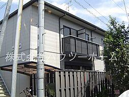 京都府城陽市平川指月の賃貸アパートの外観