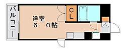 ダイナコート箱崎[4階]の間取り