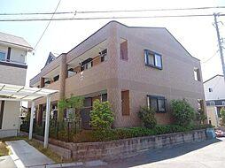 愛知県安城市小川町金政の賃貸アパートの外観