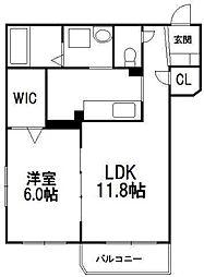 パールヒル 8[1階]の間取り