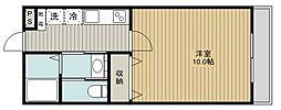 SAKASU AZABU[205号室]の間取り
