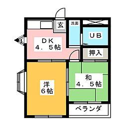 妙興寺駅 3.8万円