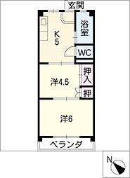 川島ビル[3階]の間取り