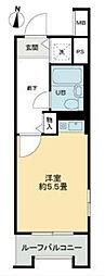 ライオンズマンション西台[5階]の間取り