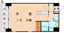 エスズイン日蒔野[10階]の間取り