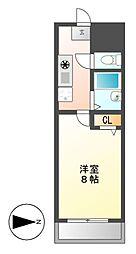 PLEASANT(プレザント)[4階]の間取り
