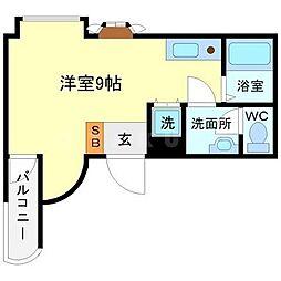 カルム香川2[3階]の間取り