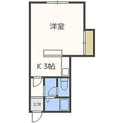 メゾニティサエキI[2階]の間取り