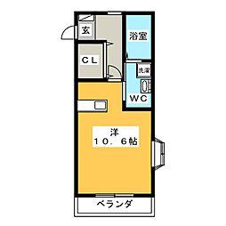 みやまマンション[2階]の間取り