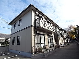 兵庫県姫路市飾磨区英賀東町1丁目の賃貸アパートの外観