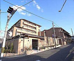 京都府京都市左京区北白川小倉町の賃貸マンションの外観