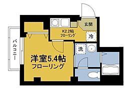 ビューノ入谷[3階]の間取り