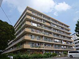 神奈川県横浜市港北区大倉山5の賃貸マンションの外観