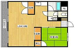 古賀第ビル[3階]の間取り