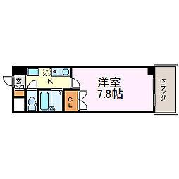 プロビデンス御器所[603号室]の間取り