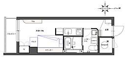 Re-Born No.37 デトムワン四条大宮II[308号室]の間取り
