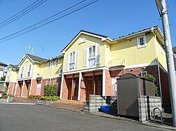 神奈川県川崎市多摩区長沢1丁目の賃貸アパートの外観