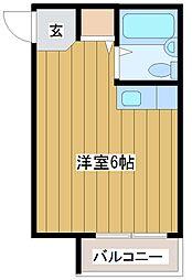 アヴァンス淀川-east[1階]の間取り