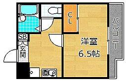 ハイツセントポーリア[2階]の間取り