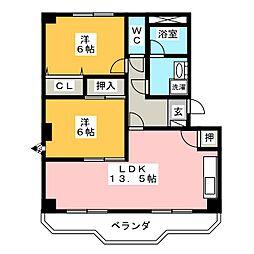 ソフィアI[4階]の間取り