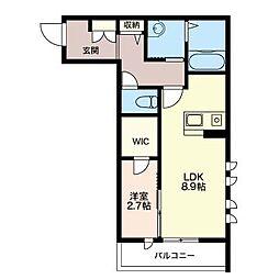 メゾン ISHITA[2階]の間取り