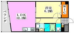 グラン インフィニティ[305号室]の間取り