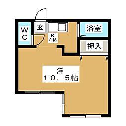 シャトーニシワキ[3階]の間取り