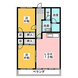 長谷川ビル[8階]の間取り