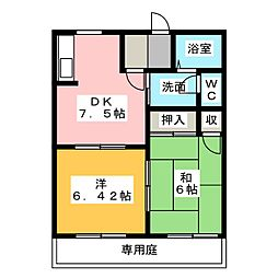 アトレ A棟[1階]の間取り